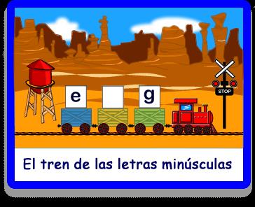 vamos al tren minsculas letras juegos juegos educativos en espaol
