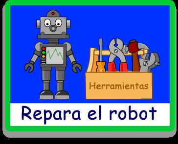 Repara el Robot - Varios - Juegos - Juegos educativos en español, JuegosArcoiris