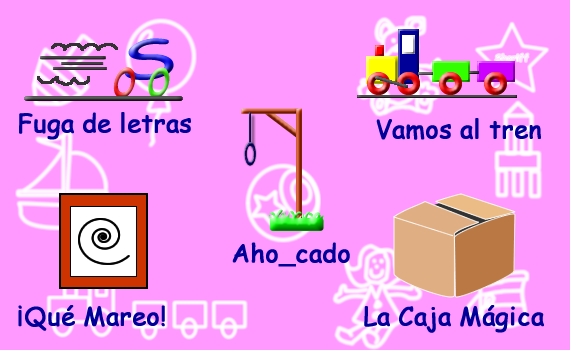Letras - Juegos - Juegos educativos en español, JuegosArcoiris