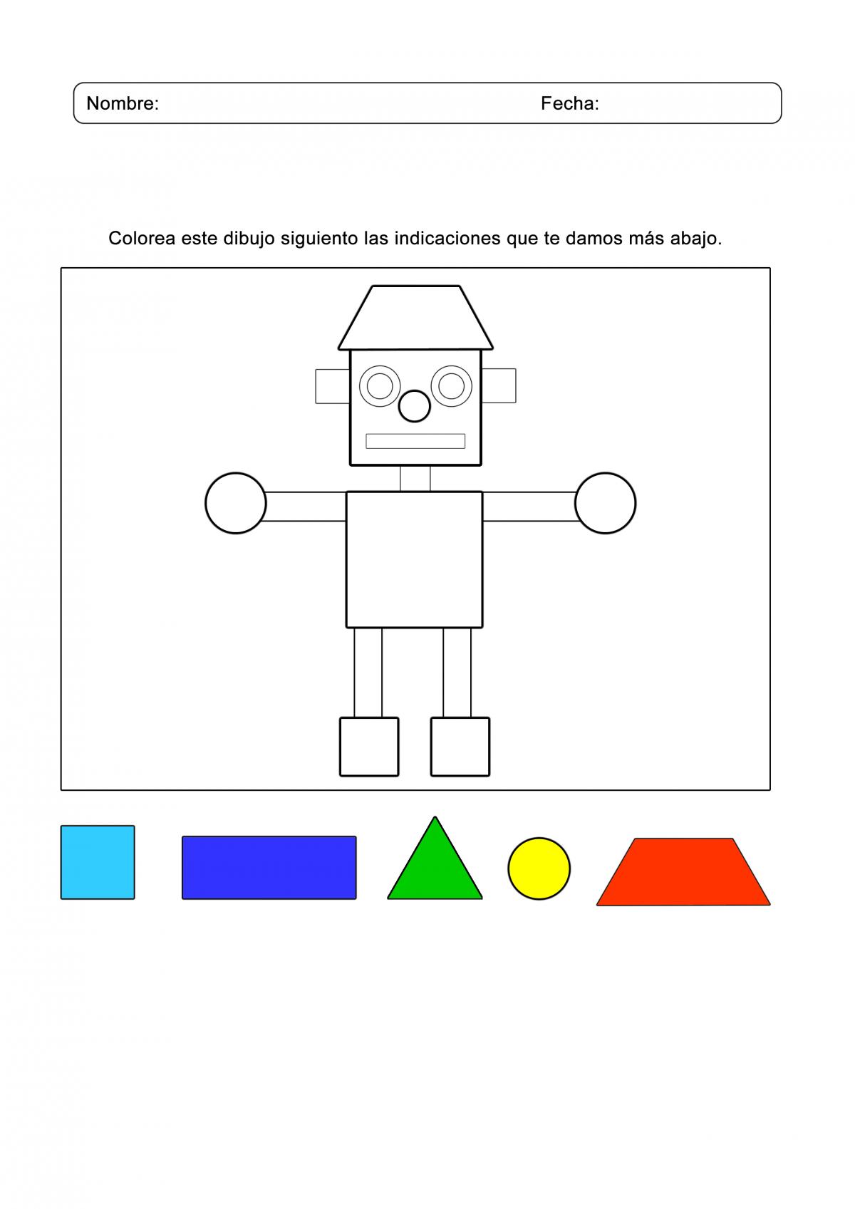 Juegos Arcoiris Actividades Figuras Geométricas Juegos