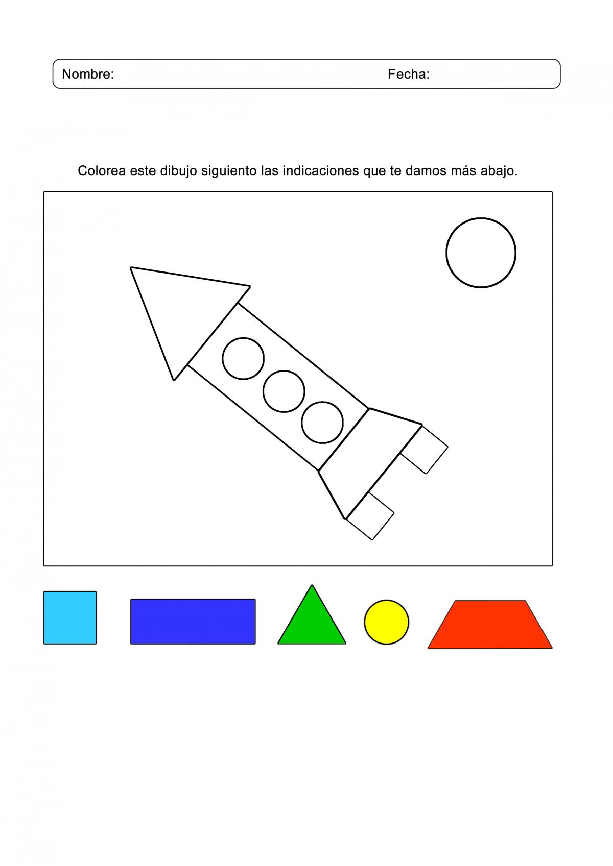 Juegos Arcoiris Actividades Figuras Geometricas Juegos